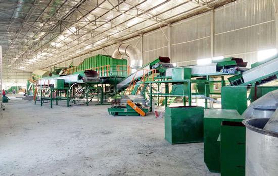 Beston solid waste treatment plant installation in Uzbekistan