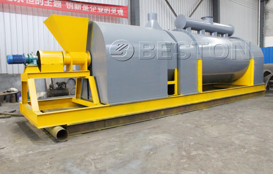 Beston wood chips charcoal making machine for sale