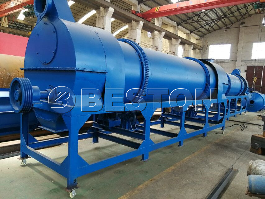 Beston sawdust charcoal making machine exported to Uzbekistan